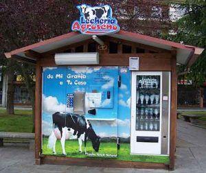 maquinas expendedoras de leche urbana