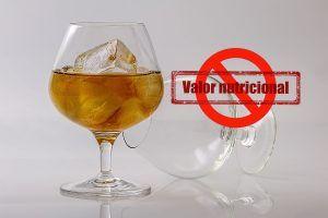 etiquetado alcohol