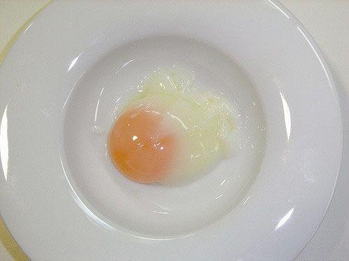 olla de coccion lenta huevo
