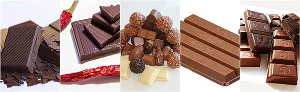 sucedaneos de chocolate tipos