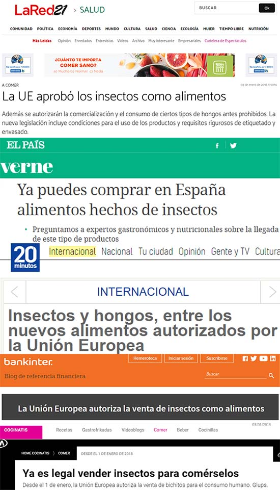 titulares insectos