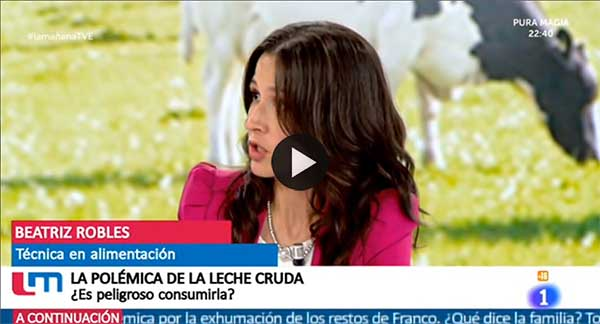 Leche cruda TVE1