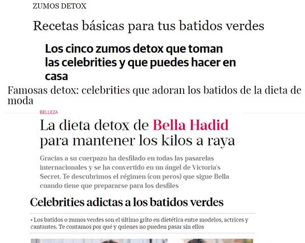 detox titulares