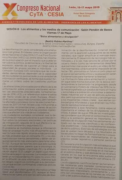 Congreso CyTA CESIA abstract