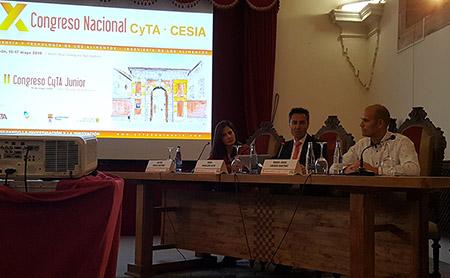 Congreso CyTA CESIA mesa