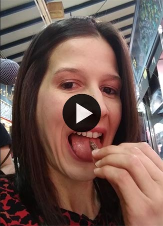 Orbita Laika insectos video