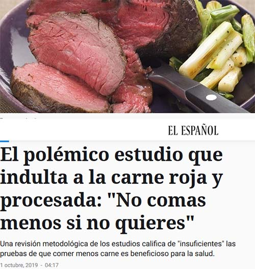 carne roja procesada titular